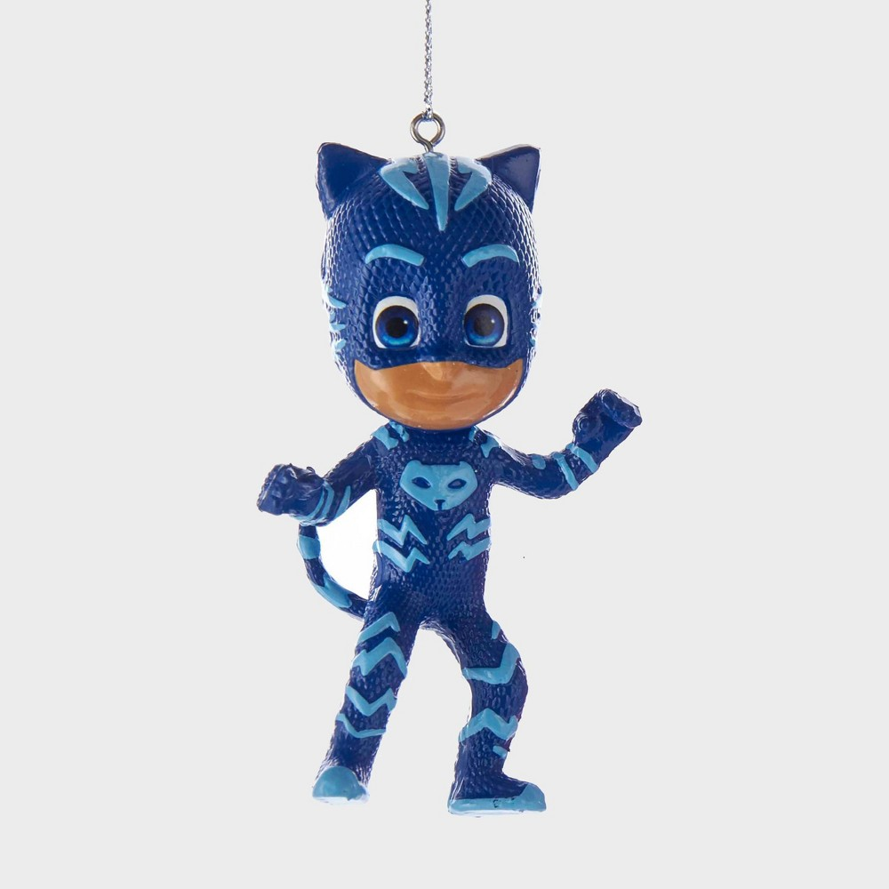 "Image of ""3"""" PJ Masks Catboy Resin Christmas Ornament, Blue"""