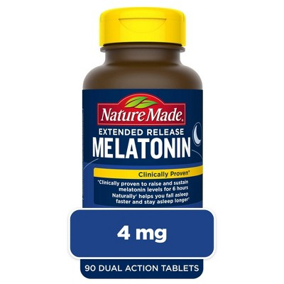 Nature Made Melatonin Extended Release Tablets - 90ct