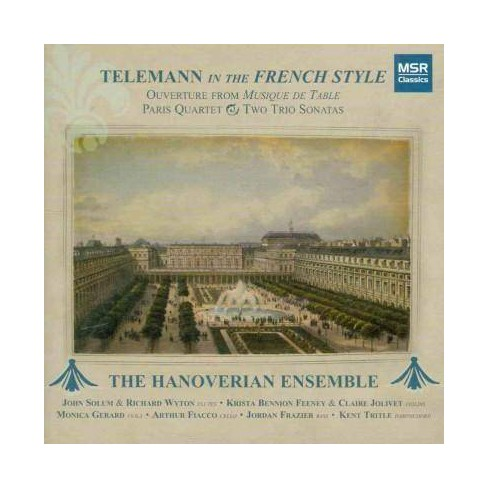 Georg P.; Hanoverian Ensemble Telemann - Telemann in The French Style (CD) - image 1 of 1