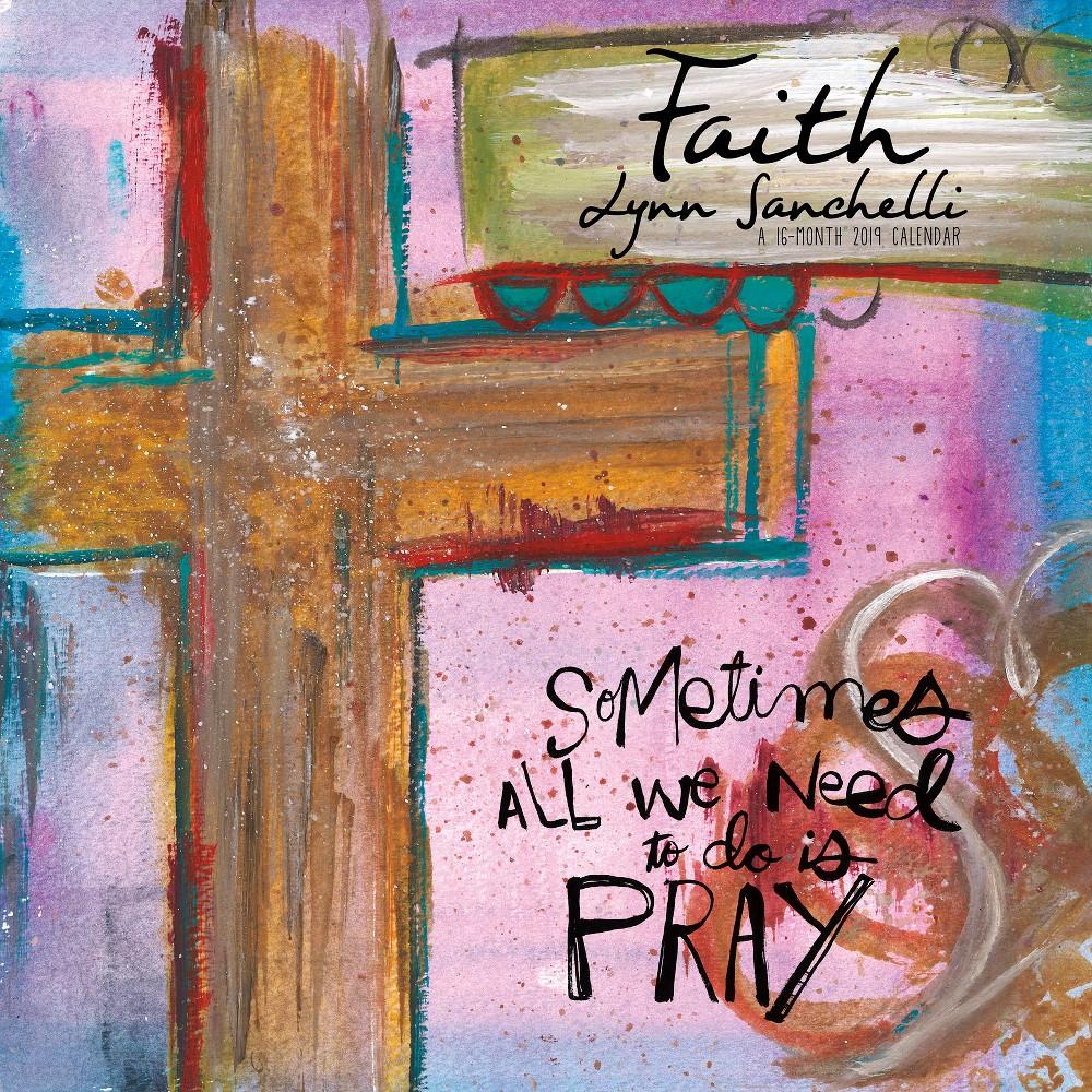 2019 Wall Calendar Faith Lynn Sanchelli - Trends International, Multi-Colored