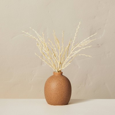 """8"""" Faux Bleached Wheat Plant Arrangement - Hearth & Hand™ with Magnolia"""
