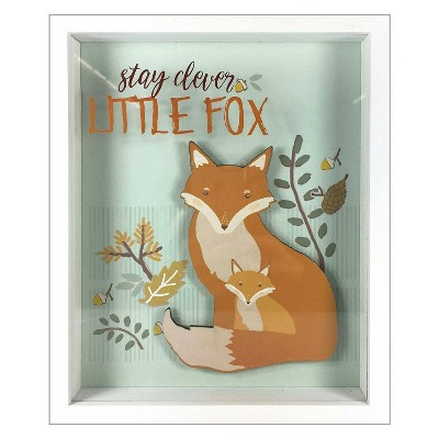 RoomMates Framed Wall Poster Prints Stay Clever Little Fox