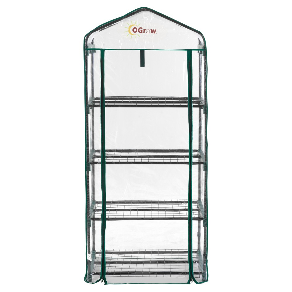 Image of Ultra - Deluxe 4 Tier Portable Bloomhouse - Clear - Ogrow