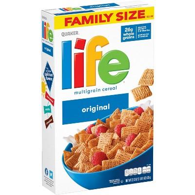 Quaker Life Original Family Size Cereal - 22.3oz