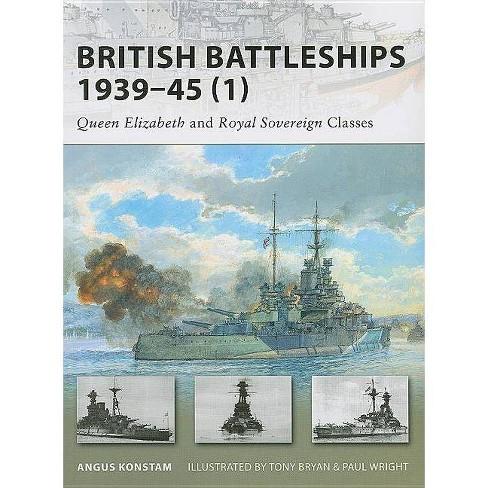 British Battleships 1939-45 (1) - (New Vanguard) by  Angus Konstam (Paperback) - image 1 of 1
