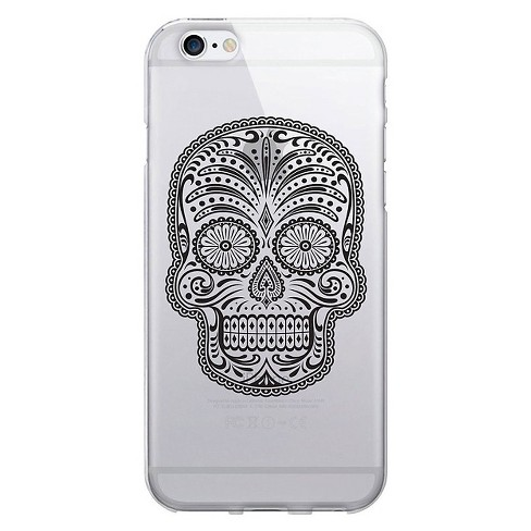 iPhone 6/6S Case - OTM Hipster Prints Clear - Grey Sugar Bones - image 1 of 1