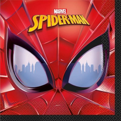 Spider-Man 16ct Party Paper Napkins