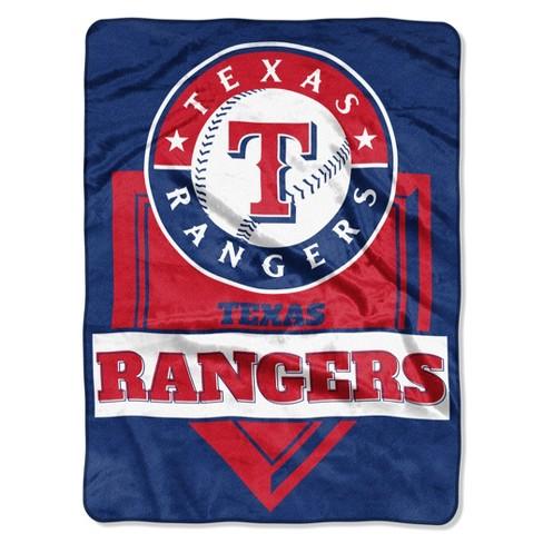 MLB Texas Rangers Raschel Throw Blanket - image 1 of 3