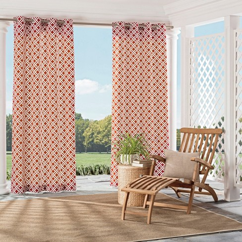 St Kitts Indoor/Outdoor Curtain Panel - Parasol - image 1 of 1
