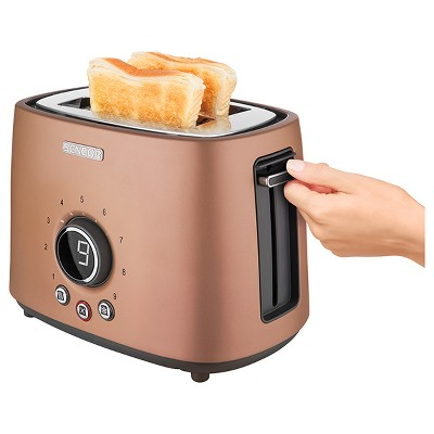 Sencor Metallic 2 Slice Toaster - Gold