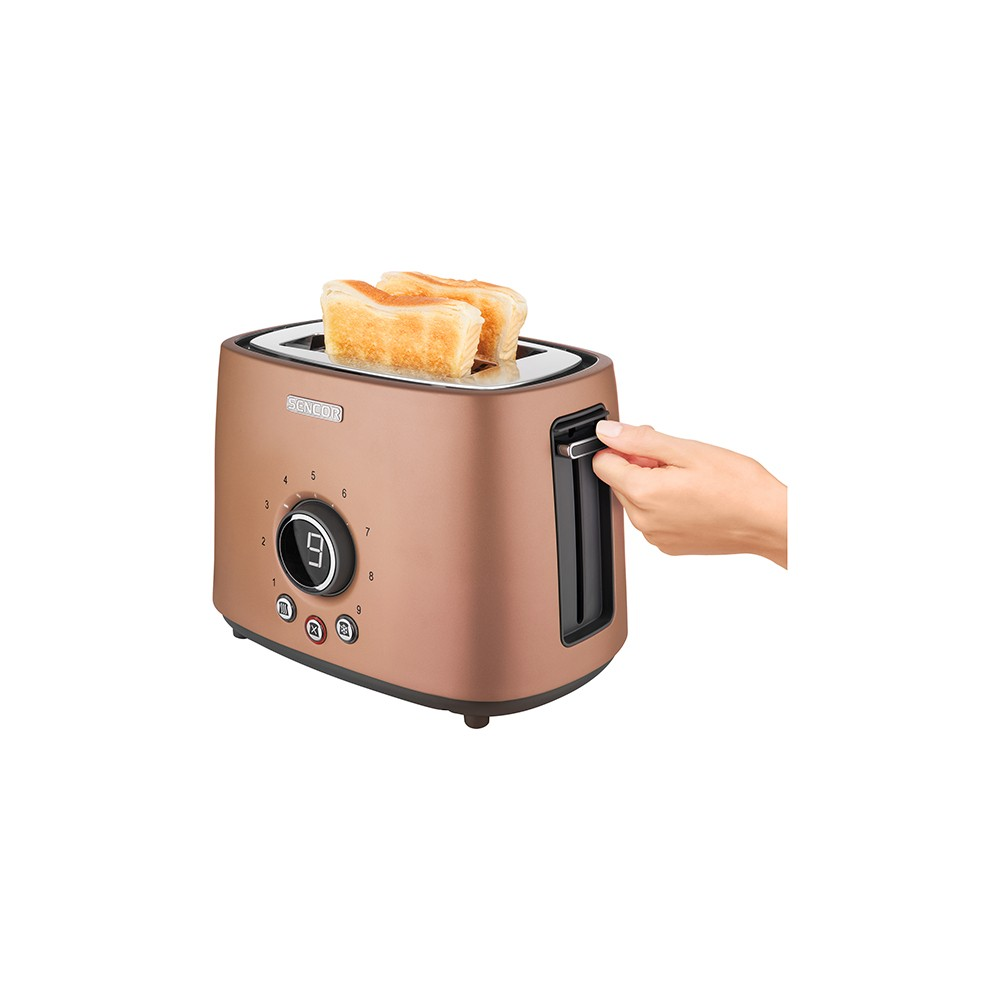 Sencor Metallic 2 Slice Toaster – Gold 54279459