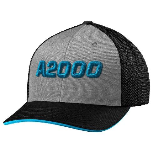 7b0342baa2a Wilson A2000 Flexfit Baseball Softball Trucker Hat - Heather Black ...