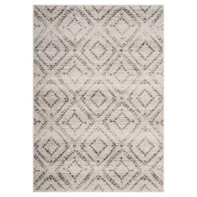 Gray Geometric Loomed Area Rug 6'X9' - Safavieh