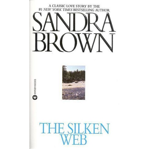 The Silken Web (Large Type / Large Print) - by  Sandra Brown (Paperback) - image 1 of 1