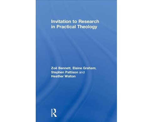 Invitation to Research in Practical Theology -  (Hardcover) - image 1 of 1