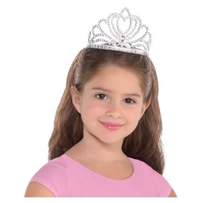 Adult Tiara Princess Silver Accessory Halloween Costume