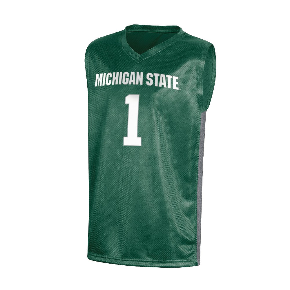NCAA Boy's Basketball Jerseys Michigan State Spartans - XS, Multicolored