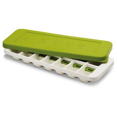Joseph Joseph® QuickSnap™ Plus Quick Release Ice Cube Tray – White/Green