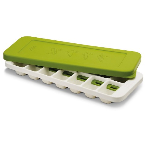 Joseph Joseph QuickSnap Plus Quick Release Ice Cube Tray – White/Green - image 1 of 4