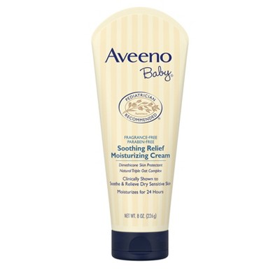 Aveeno Baby Soothing Relief Moisture Cream - 8 oz.