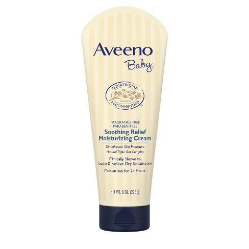 Aveeno Baby Soothing Relief Moisture Cream - 8 oz. - image 1 of 11