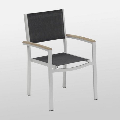 Travira 2pk Sling Seat Armchair - Vintage Gray - Oxford Garden - image 1 of 1