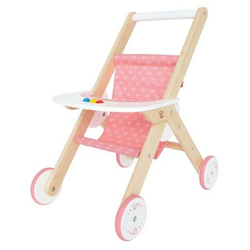 Hape Kids Wooden Babydoll Stroller Baby Toddler Pretend Toy Play Furniture - image 1 of 4