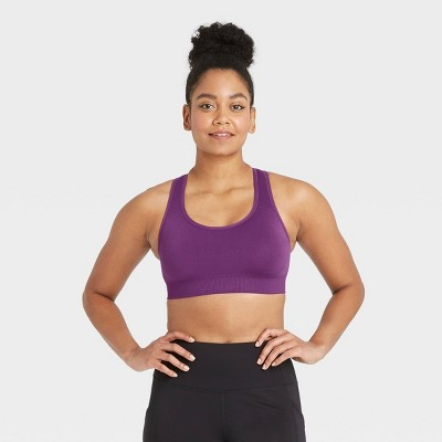 Women's Medium Support Seamless Racerback Bra - All in Motion™