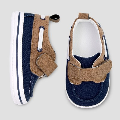 Baby Boys' Crib Shoes - Just One You® made by carter's Blue 3-6M