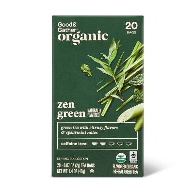 Organic Zen Green Tea - 20ct - Good & Gather™