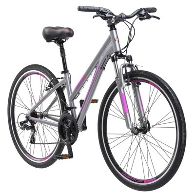 "Schwinn Women's Trailway 700c/28"" Hybrid Bike - Gray"