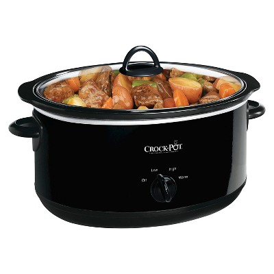 Crock-Pot® 8 Qt. Manual Slow Cooker - Black SCV800-B