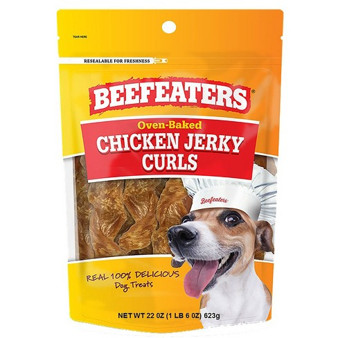 Beefeaters Jerky Curl Chicken Dog Treats - 22oz - image 1 of 3