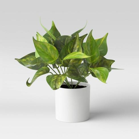 "10"" x 9"" Artificial Leaf Arrangement - Threshold™ - image 1 of 4"