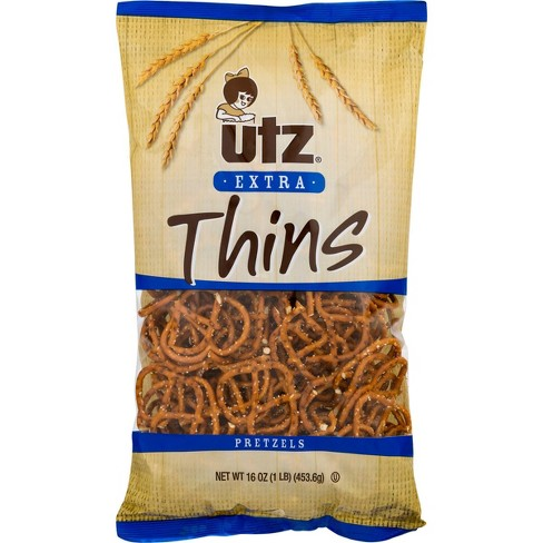 Utz Extra Thin Pretzels - 16oz - image 1 of 3