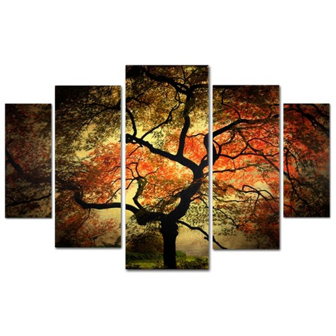 'Japanese' by Philippe Sainte-Laudy Ready to Hang Multi Panel Art Set - image 1 of 3