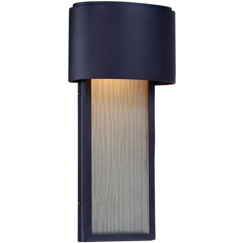 The Great Outdoors 72399 615b L 1 Light Ada Compliant Led Outdoor Wall Sconce From Everton Collection Dorian Bronze