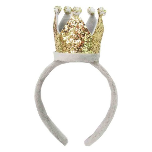 White Felt Crown Headband - Spritz™   Target 6589b0059d6
