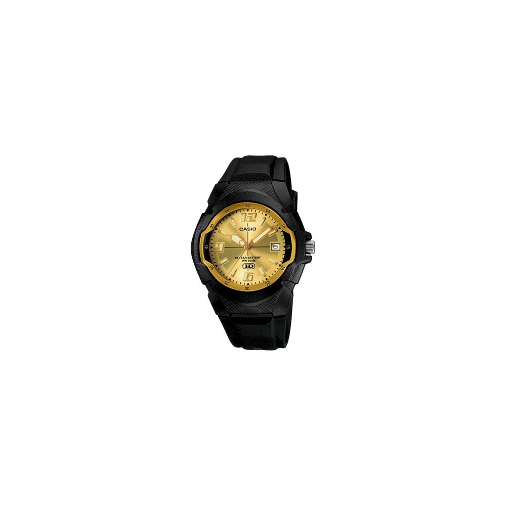 Image of Casio Men's 10-Year Battery Analog Watch - Black (MW600F-9AV), Size: Small