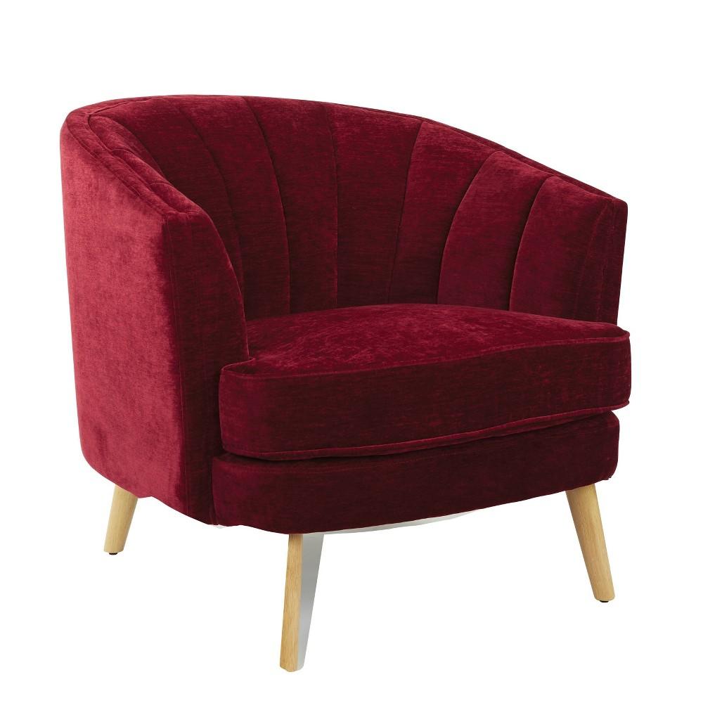 Prime Kathleen Accent Chair Eggplant Osp Home Furnishings Lamtechconsult Wood Chair Design Ideas Lamtechconsultcom