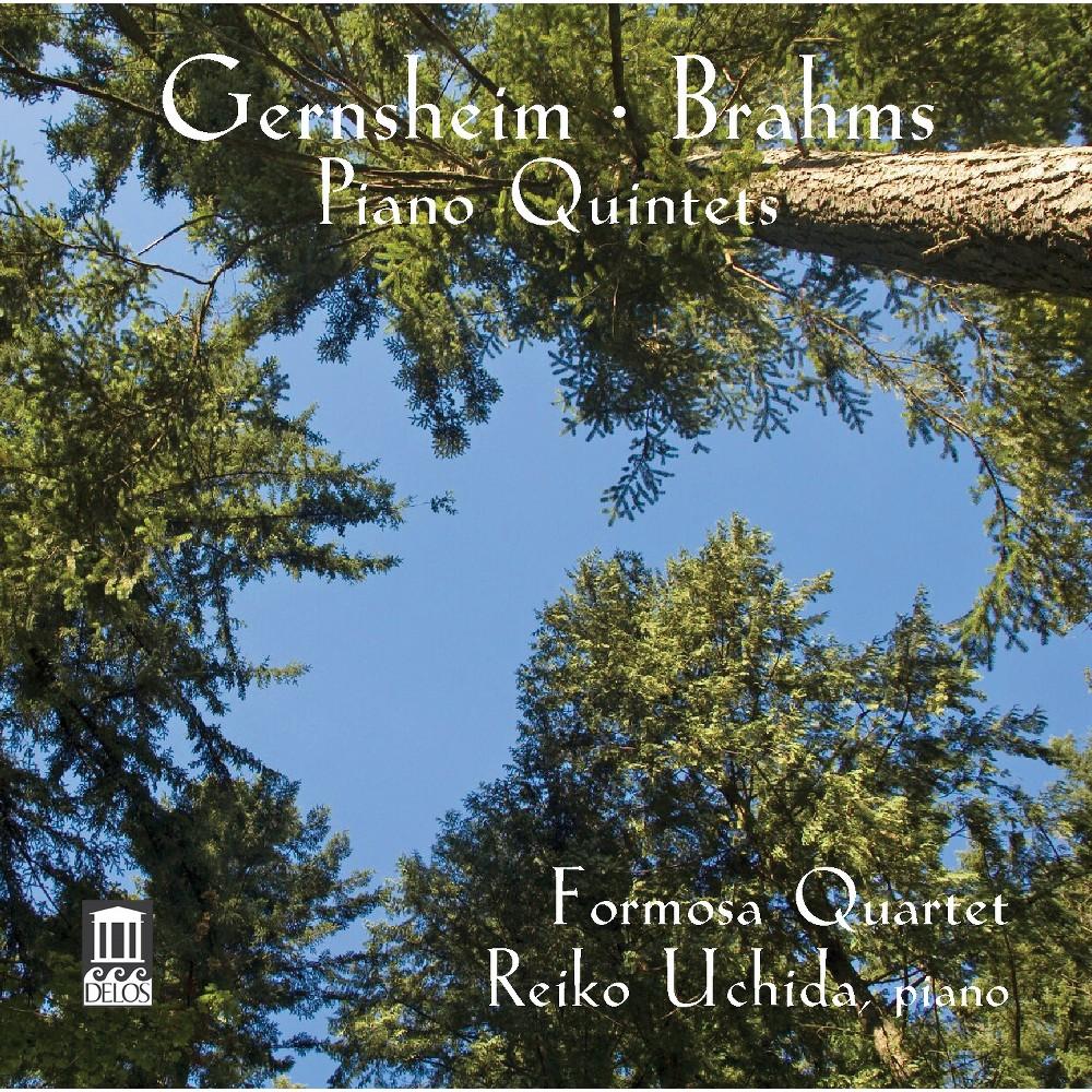 Formosa Quartet - Brahms/Gernsheim:Piano Quintets (CD)
