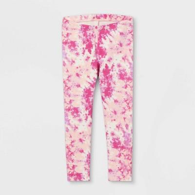 Toddler Girls' Tie-Dye Leggings - Cat & Jack™ Pink