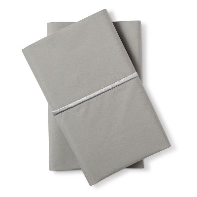 Hotel Single Baratta Pillowcase Set (King)Skyline Gray 300 Thread Count - Fieldcrest™
