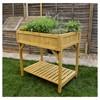 Herb Planter Square (Divider) FSC 100% - Brown - VegTrug - image 4 of 4