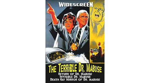 Terrible Doctor Mabuse Triple Feature (DVD) - image 1 of 1