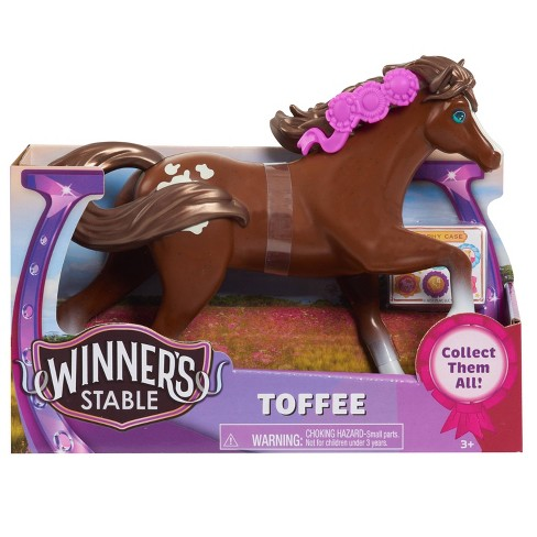 """Winner's Stable 5"""" Toffee Collectible Horse Figure - image 1 of 4"""