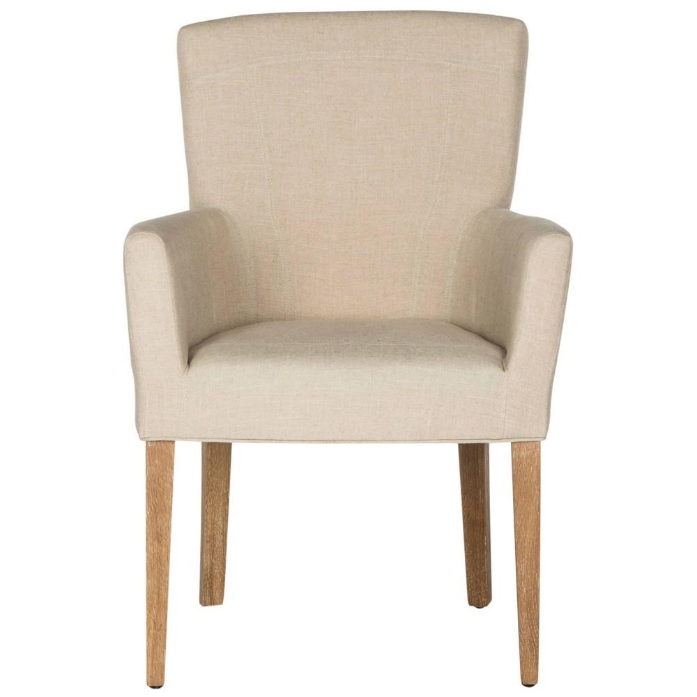 Accent Chairs Safavieh Beige Hemp