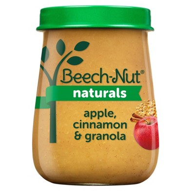 Beech-Nut Naturals Apple Cinnamon & Granola Baby Food Jar - 4oz