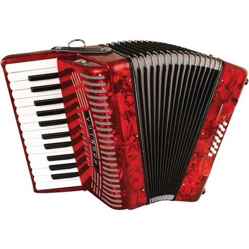 Hohner 12 Bass Entry Level Piano Accordion Red - image 1 of 1