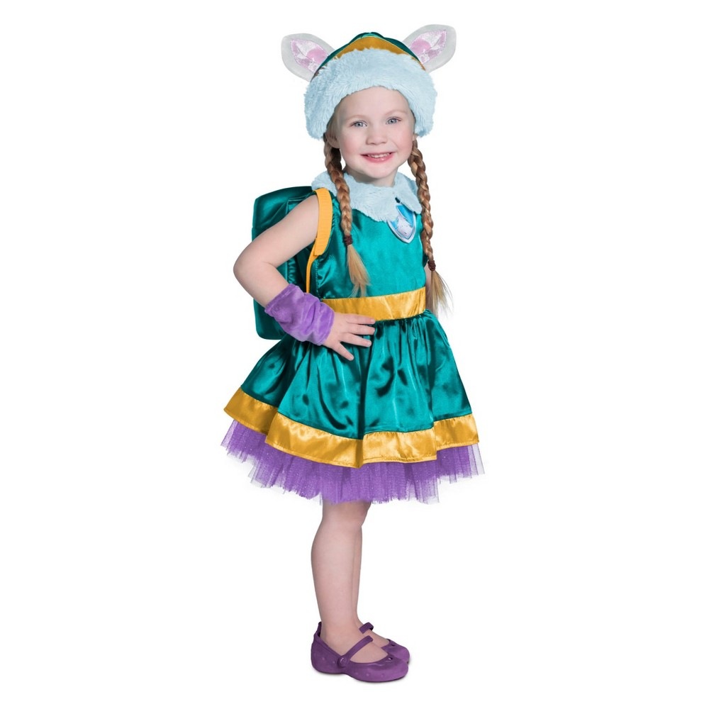 Baby Girls' Paw Patrol Everest Halloween Costume 12-18M, Multicolored